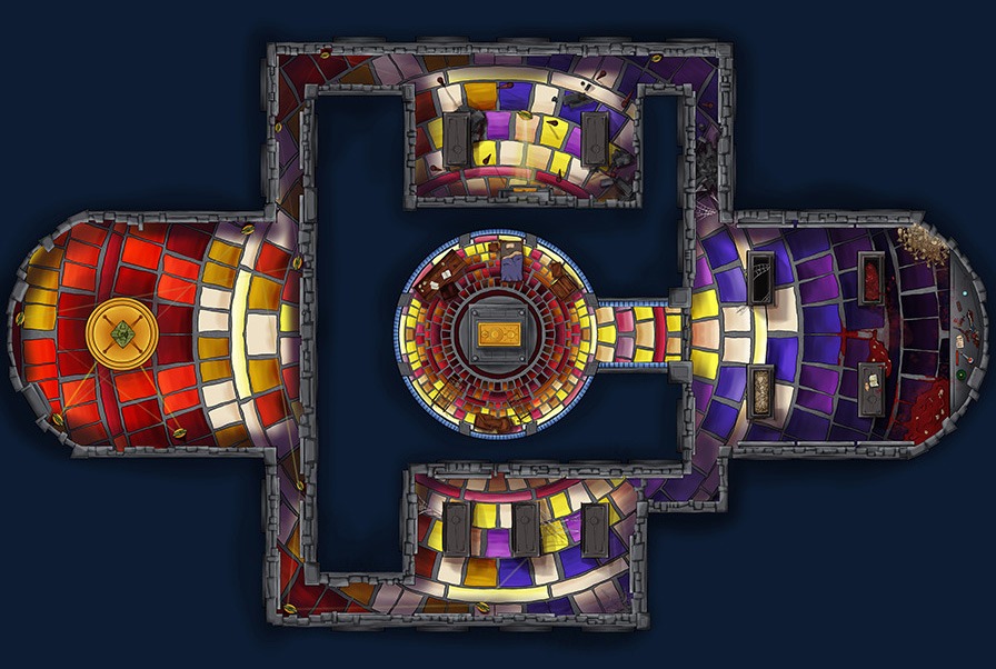 Crypt Map